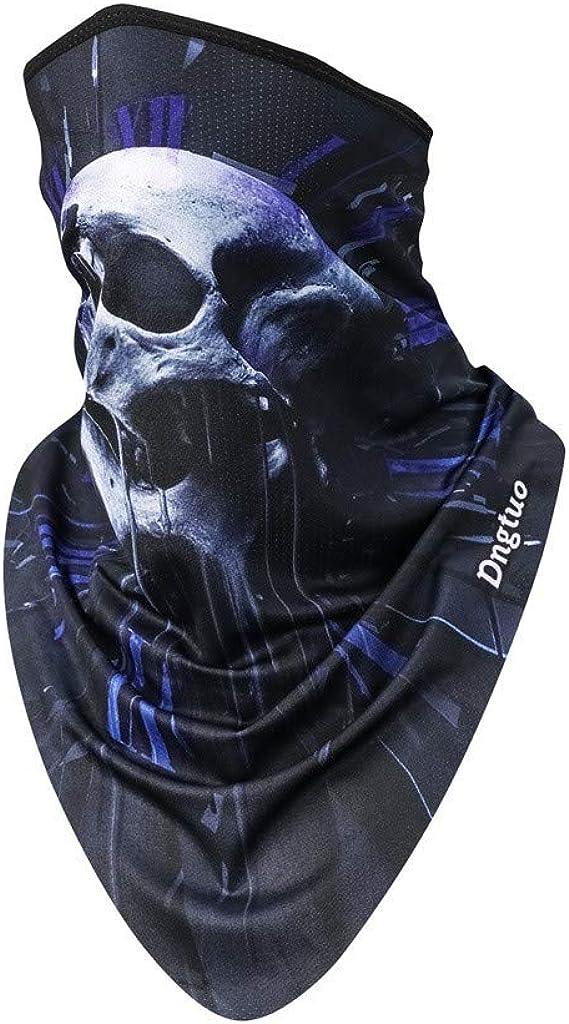 Sun UV Protection Neck Gaiter Half Face Cover Scarf Dust Wind Bandana Balaclava Headwear for Fishing Hiking Cycling