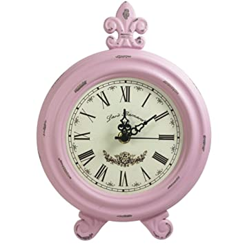 Retro Vintage Table Clock,Decorative Table Clock,Silent No Ticking Antique  Table Desk Clock