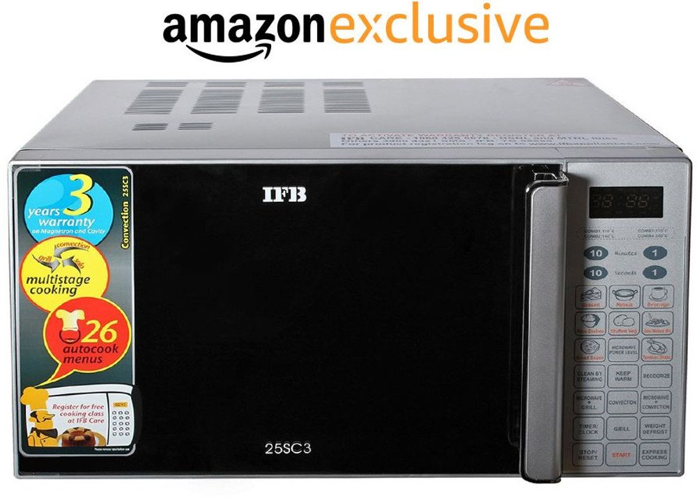 IFB 25SC3 25 L Convection Microwave Oven