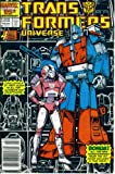 img - for Transformers Universe #4 (Marvel Comic Book 1987) book / textbook / text book