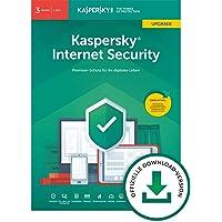 Kaspersky Internet Security 2019 Upgrade | 3 Geräte | 1 Jahr | Windows/Mac/Android | Download | Upgrade | 3 Geräte | 1 Jahr | PC/Mac | Online Code