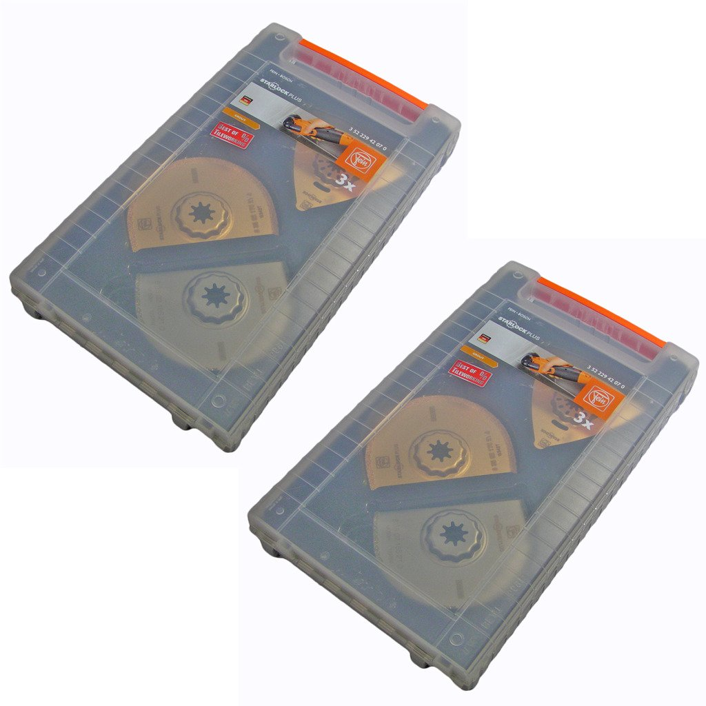 Fein 2 Pack Of Genuine OEM Replacement Blade Sets # 35222942070-2PK