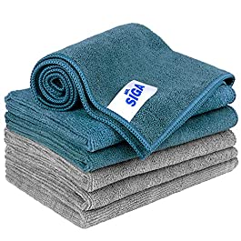 MR.SIGA Microfiber Cleaning Cloth, Pack of 6, Size: 13.8″ x 15.7″