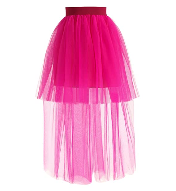 0f5d59415c Falda Tutu Mujer Faldas de Tul Largas Falda Tul Disfraz Fiesta Larga para  Bodas Disfraces con