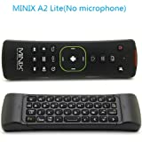 MINIX A2 Lite 2.4G Wireless Keyboard Mouse Wireless Mini QWERTY Keyboards Combo For HTPC /Android tv box / MINIX X8H Plus With OURSPOP USB Sound Card