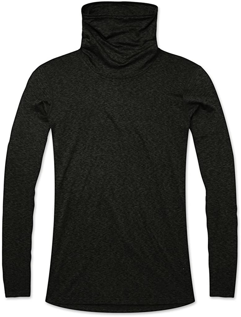 TCA Women's Warm-Up Funnel Neck Thermal Running Top: Clothing