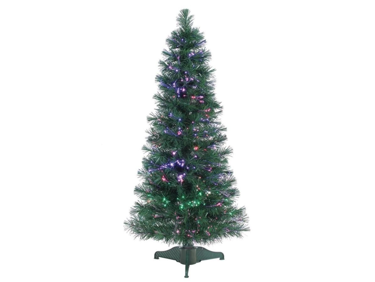 Artificial Christmas Tree. Fake Xmas Pine With Classic Fir Shape, Green, Dense, Lush Foliage. Looks Festive & Real. Compact, Great For Indoor, Tabletops, Holiday Season Party Decor. (4 Foot) by Artificial-Christmas-Tree