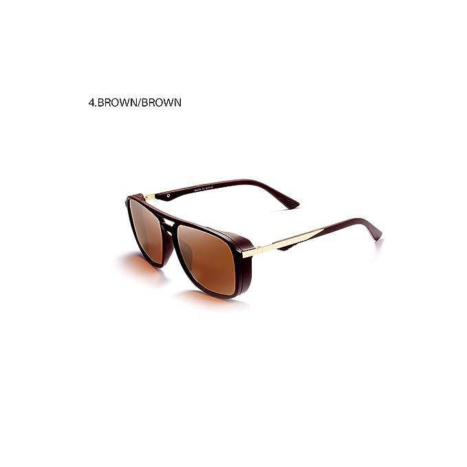 Amazon.com: Roza - Gafas de sol para hombre, a prueba de ...