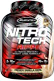 MuscleTech Nitro Tech Ripped Ultra Clean Whey Protein Isolate Powder + Weight Loss Formula, Low Sugar, Low Carb, French…