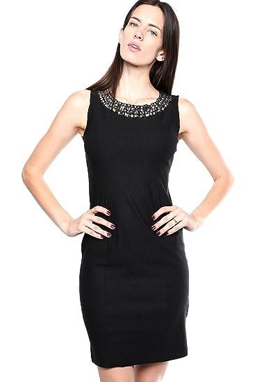 Zoara Vestido Negro Vestido Para Mujer