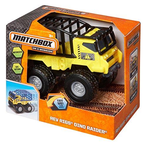 - Matchbox Rev Rigs Dino Raider Vehicle
