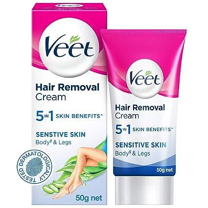 Buy Veet Silk Fresh Hair Removal Cream Sensitive Skin 50 G
