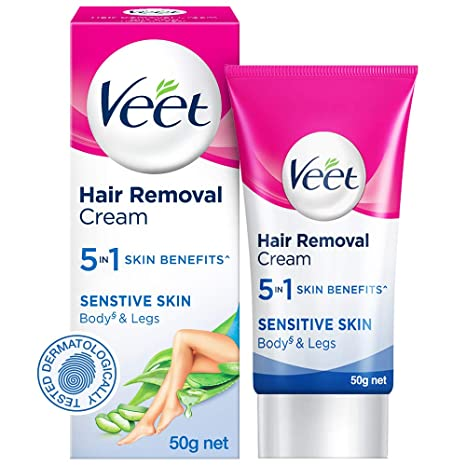 Buy Veet Silk Fresh Hair Removal Cream Sensitive Skin 50 G Online At Low Prices In India Amazon In
