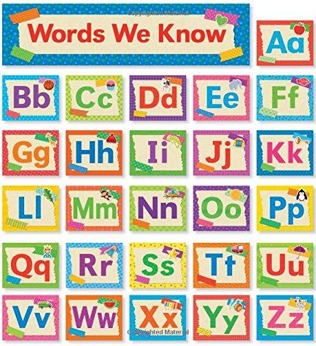 Tape It Up!: Alphabet Mini Bulletin Board ()