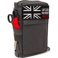 Limitless Equipment Alpha First Aid Kit MOLLE Erste-Hilfe-Tasche für Militär, Camping, Survival, Wandern und Auto.
