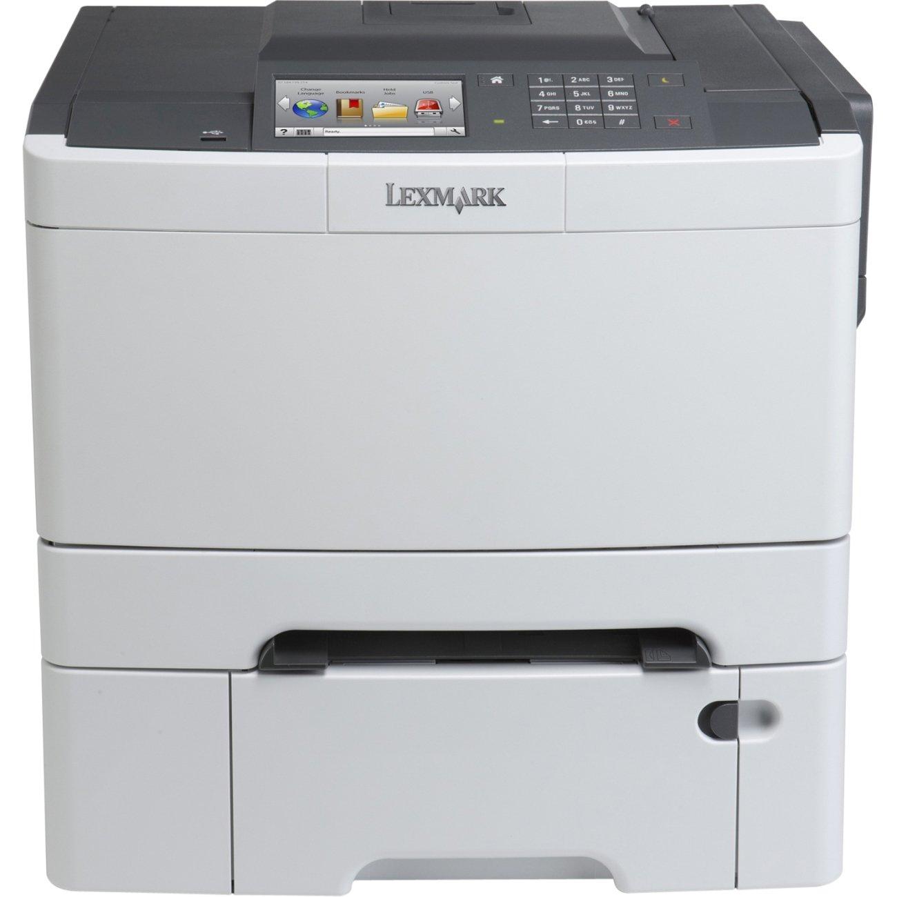 Amazon Lexmark CS510dte 28E0100 Laser Color Printer Black Grey Office Products