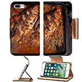 manicure oven - Luxlady Premium Apple iPhone 7 Plus Flip Pu Leather Wallet Case iPhone7 Plus 34252021 Two carp fishes prepared to be cooked in the oven with tomatoes olives onion pepper bay leaf a