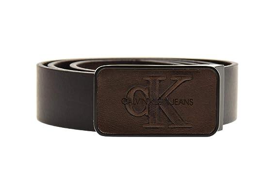 Calvin Klein ceintures en cuir K50K504167 201 J 3.5CM ADJ MONO PLA  Amazon. fr  Vêtements et accessoires 7a503b6d17b