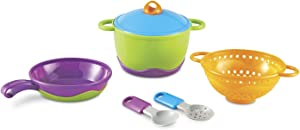 Learning Resources New Sprouts Cook it!, 6 Pieces,Multi-color