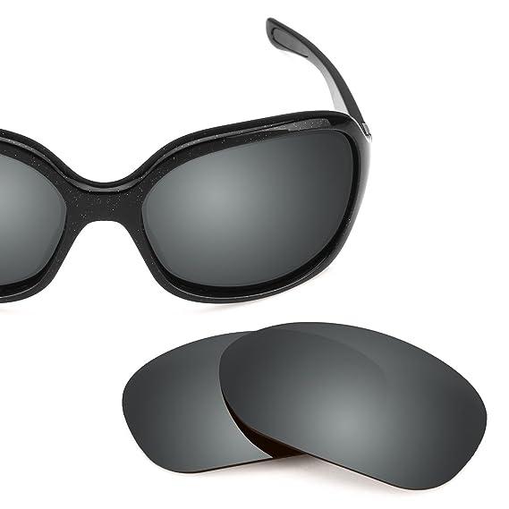 c648b2e68e Revant Polarized Replacement Lenses for Oakley Pulse Elite Black Chrome  MirrorShield®  Amazon.co.uk  Clothing