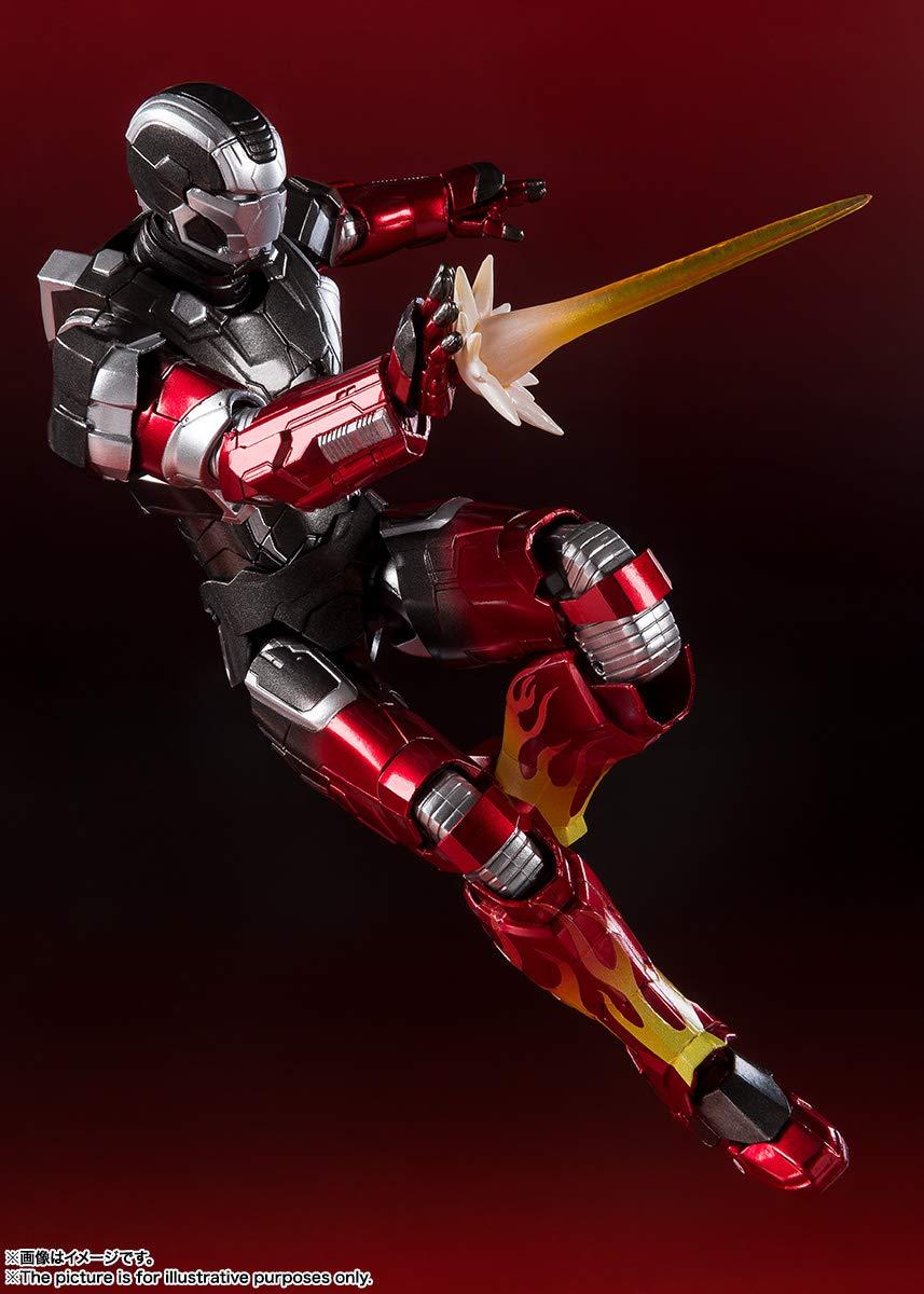 SH Figuarts Iron Man Mark 3 about 155mm ABS /& PVC figure Bandai Japan F//S