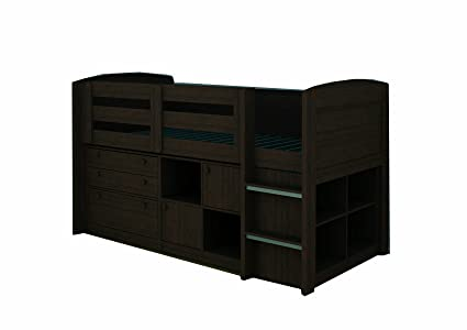Rack Furniture Brookfield Loft Bed, Expresso