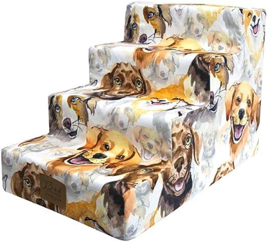 Xploit Escalera para Perros Escalera para Gatos Paso para Mascotas para Subir Escalera para Subir Animales Escaleras para Mascotas Pasos para Gatos Pasos para esponjas para Perros Escalera para Subir: Amazon.es: Productos
