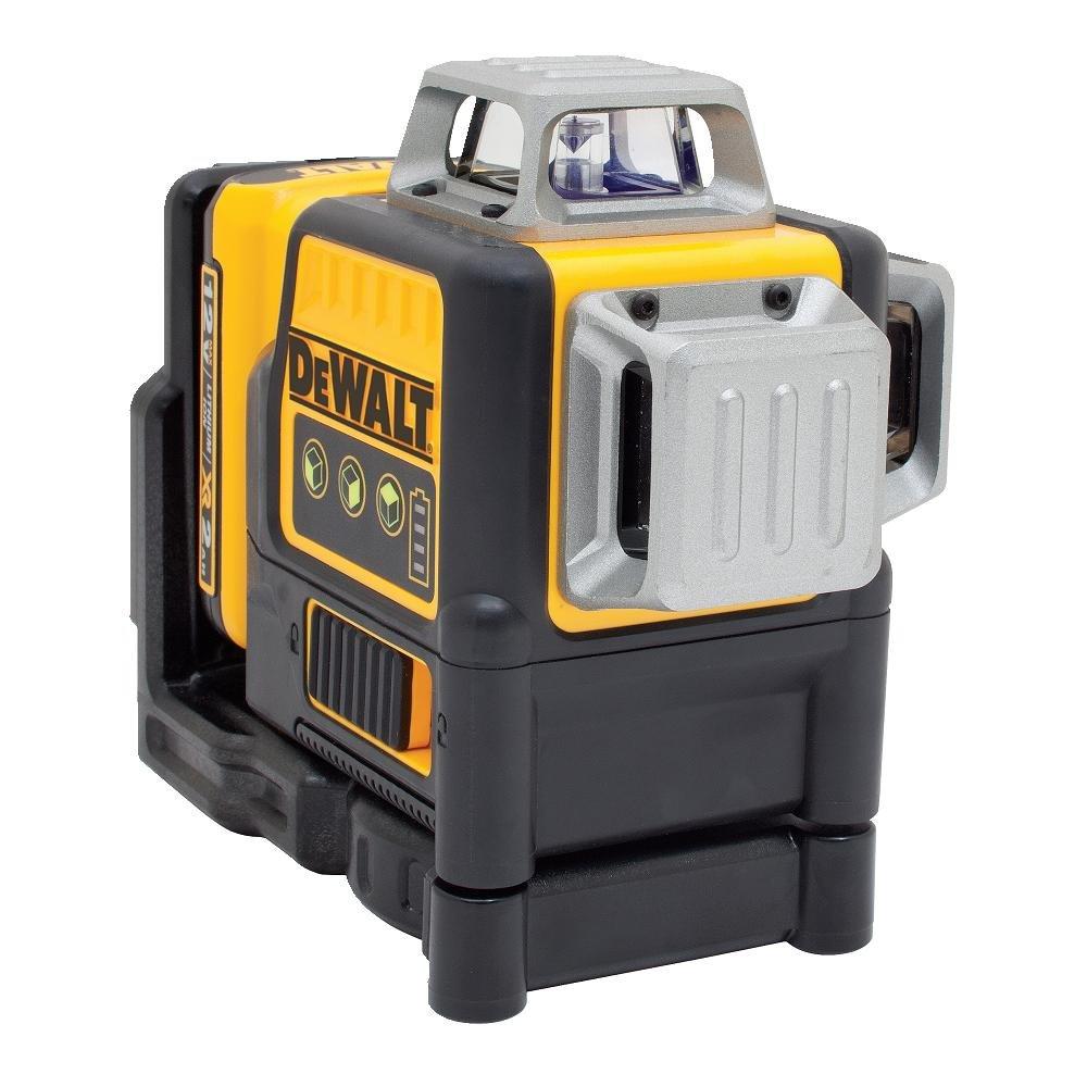 DEWALT DW089LG 12V MAX 3 X 360 Line Laser, Green by DEWALT
