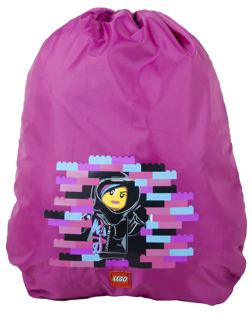 LEGO Movie Wyldstyle Cinch Sack, Pink, One Size high-quality