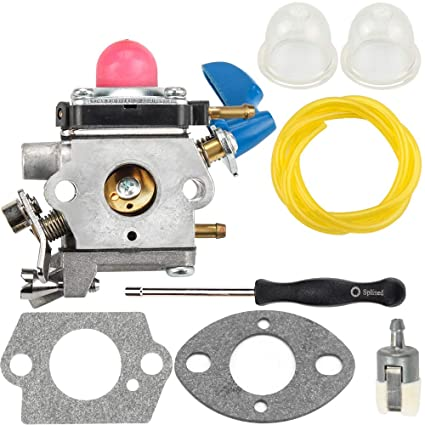 amazon com dxent carburetor fuel line filter gasket parts kit fit Weed Eater Gas Trimmer dxent carburetor fuel line filter gasket parts kit fit poulan pp2822 22\u0026quot; gas hedge trimmer