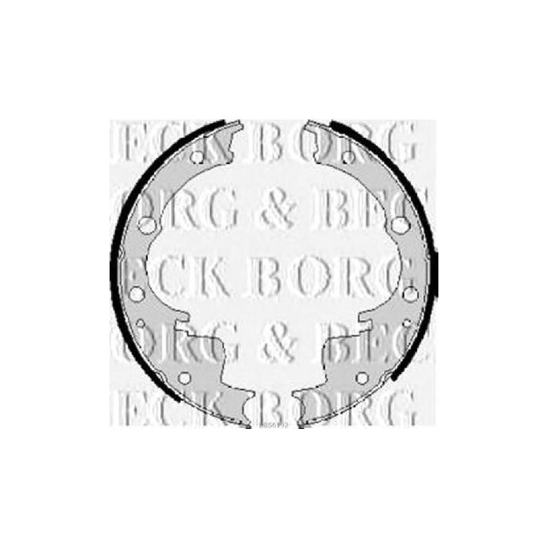 Borg & Beck BBS6192 Set ganasce First Line