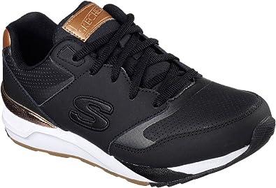 Skechers  Damen Sneaker schwarz Schwarz