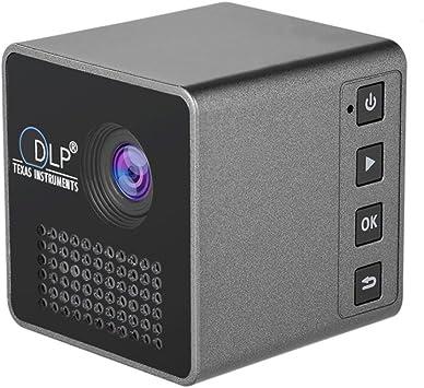 Mini Wi-Fi Proyector de cine en casa Proyector portátil de la LED ...