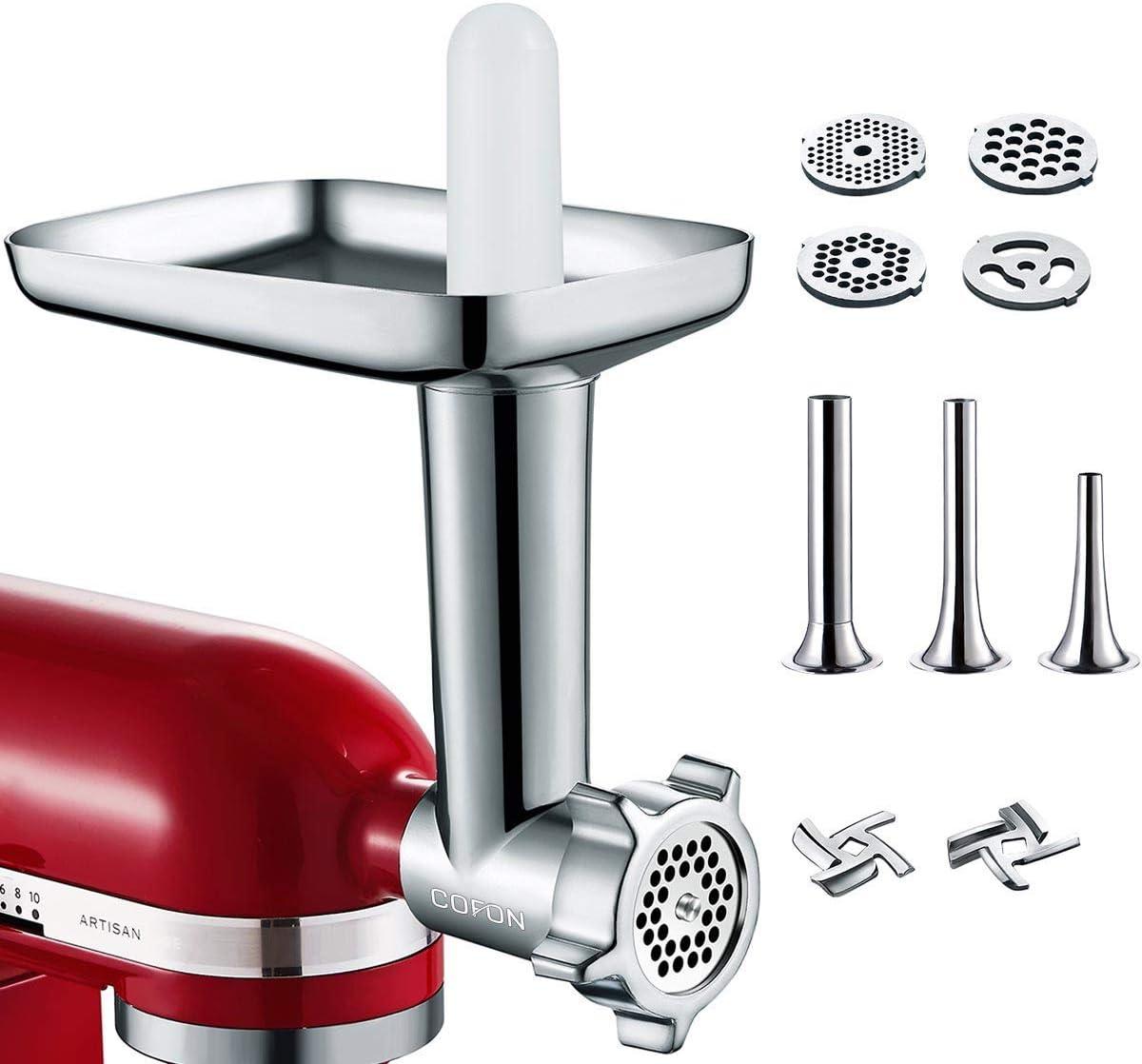 Fleischwolf Slicer für KitchenAid Mixer 1*Haushalts-Aluminiumlegierung Gemüse