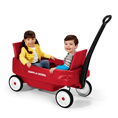 Radio Flyer 2700 Pathfinder Wagon, Red (Discontinued by manufacturer): Toys & Games