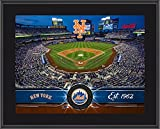 "New York Mets 10"" x 13"" Sublimated Team Stadium Plaque - MLB Team Plaques and Collages"