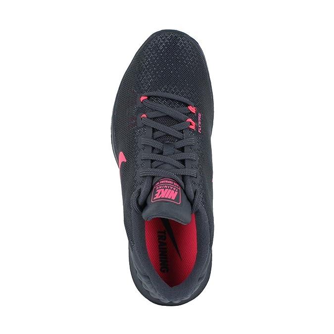 Nike Womens WMNS Flex Supreme TR 5 Dark Grey Hot Punch White