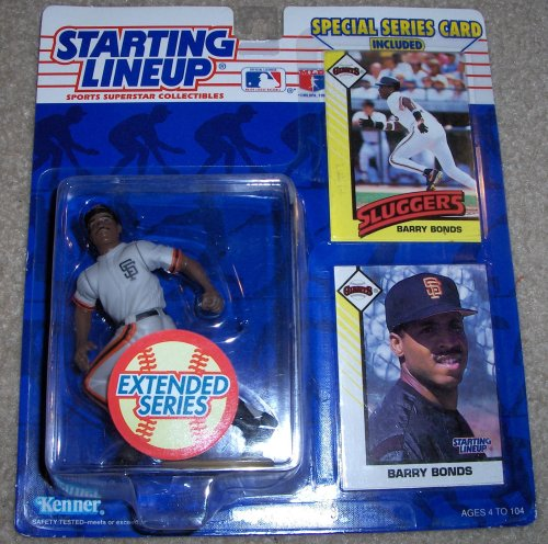 1993 Barry Bonds MLB Starting Lineup Extended Series Figure