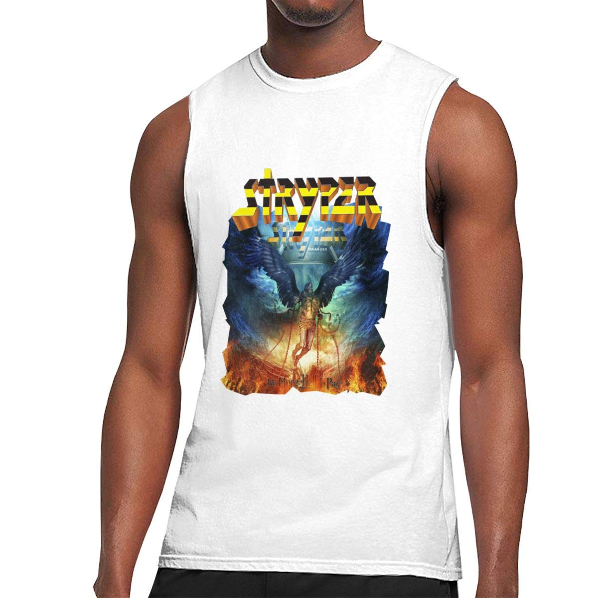 Seuriamin Stryper No More Hell To Pay S Humor Athletic Sleeveless Muscle Short Sleeve T Sh