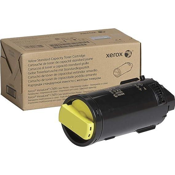 Amazon.com: Xerox VersaLink C500 /C505 Yellow Standard ...