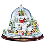 PEANUTS Merry And Bright Snowglobe With Music And Motion by The Bradford Exchange