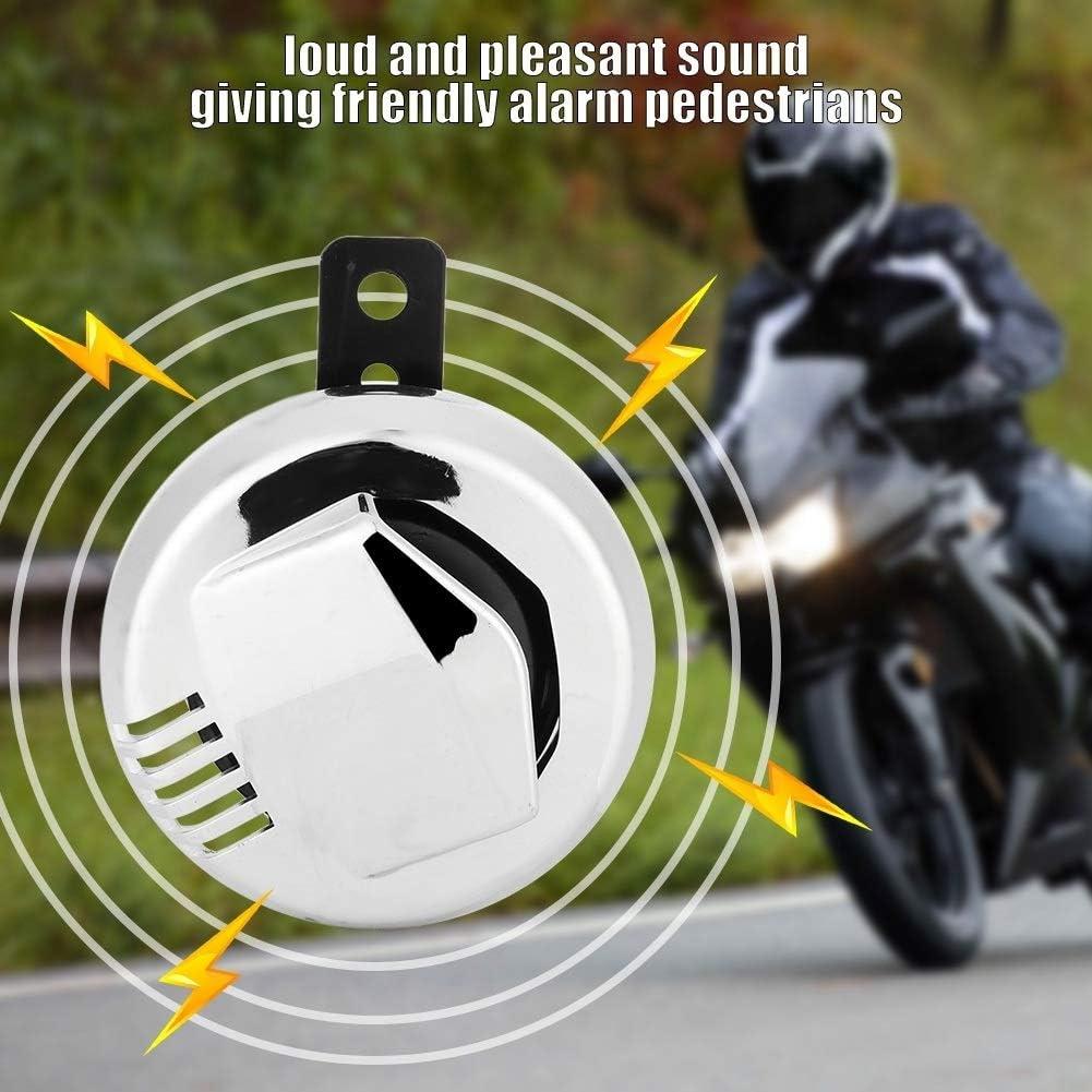 Conlense Motorcycle Loudspeaker Vintage Motorcycle Electric Horn Loudspeaker Super Loud 12V 2A 110dB Accessory