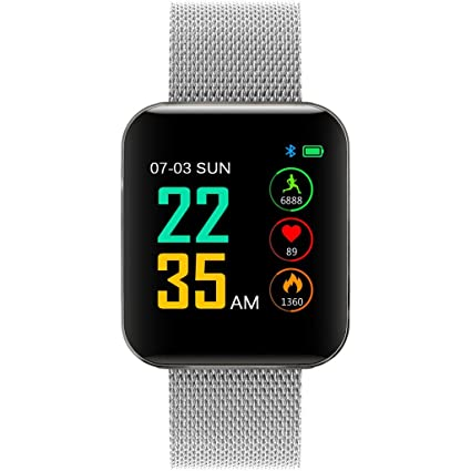 Amazon.com: Star_wuvi 1.54inch Heart Rate Activity Step Counter ...