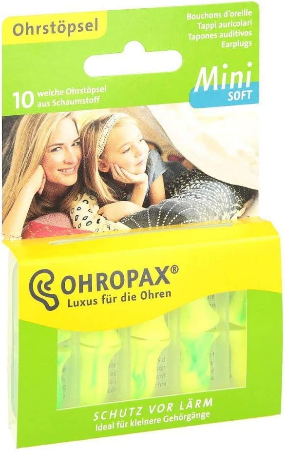Ohropax Mini Soft Ear Plugs 10 per package