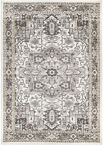 Orian Rugs Lone Star Belle Natural 108 X156 Area Rug, 9 x 13 , Gray