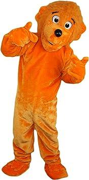 Langteng Disfraz de oso naranja rea de dibujos animados de ...