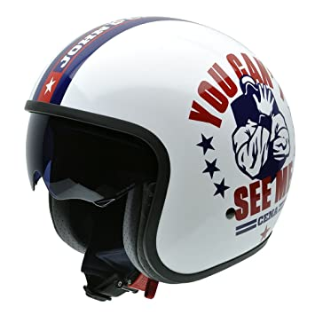 NZI 050309G801 Rolling John Cena Me by Superstars WWE, Casco de Moto, Talla 58