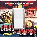 Rikki Knight 3703 Single Rocker Vintage Movie Posters Art Blood of Vampire 3 Design Light Switch Plate