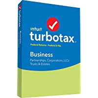 TurboTax Business 2018 (for Windows) Tax Software