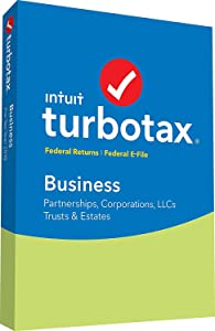 TurboTax Business 2018 Tax Software [PC Disc]